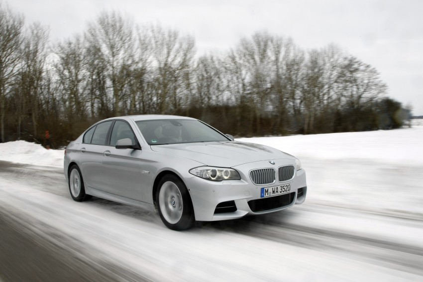 BMW M Performance Automobiles: tri-turbo diesel trio F10 BMW M550xd, BMW X5 M50d and BMW X6 M50d! Image #90276
