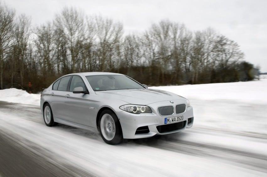 BMW M Performance Automobiles: tri-turbo diesel trio F10 BMW M550xd, BMW X5 M50d and BMW X6 M50d! Image #90276