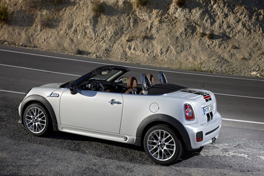 MINI Roadster – production drop top MINI Coupe unveiled! Image #74940