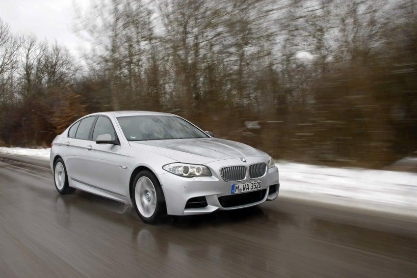 BMW M Performance Automobiles: tri-turbo diesel trio F10 BMW M550xd, BMW X5 M50d and BMW X6 M50d! Image #90277