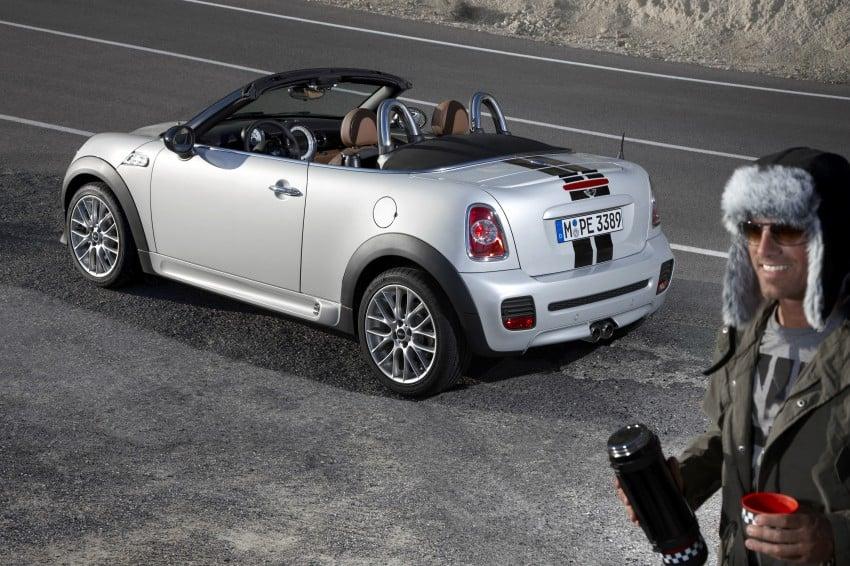 MINI Roadster – production drop top MINI Coupe unveiled! Image #74941