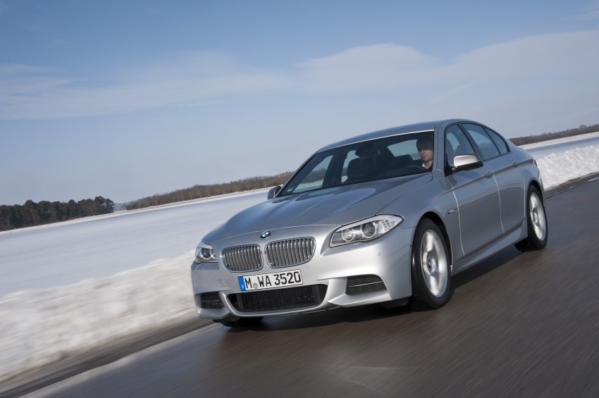 BMW M Performance Automobiles: tri-turbo diesel trio F10 BMW M550xd, BMW X5 M50d and BMW X6 M50d! Image #90280