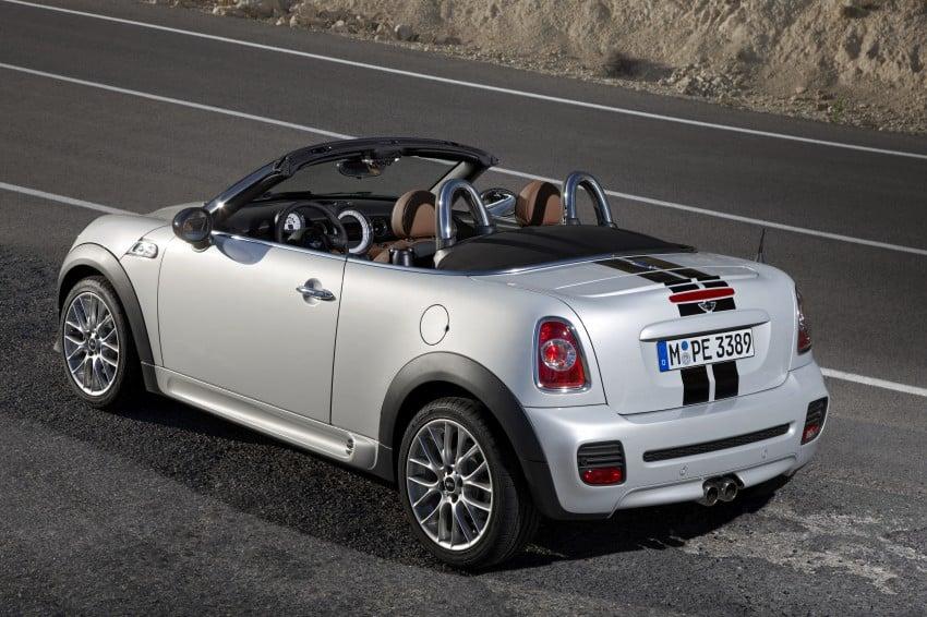 MINI Roadster – production drop top MINI Coupe unveiled! Image #74944