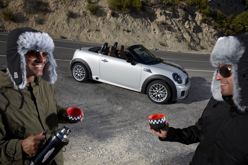 MINI Roadster – production drop top MINI Coupe unveiled! Image #74945