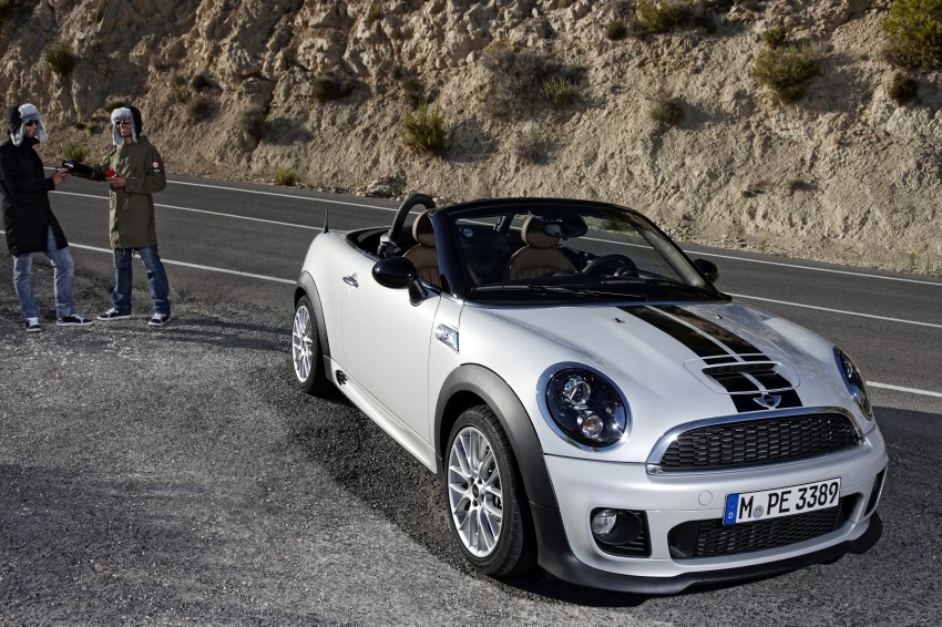 MINI Roadster – production drop top MINI Coupe unveiled! Image #74946