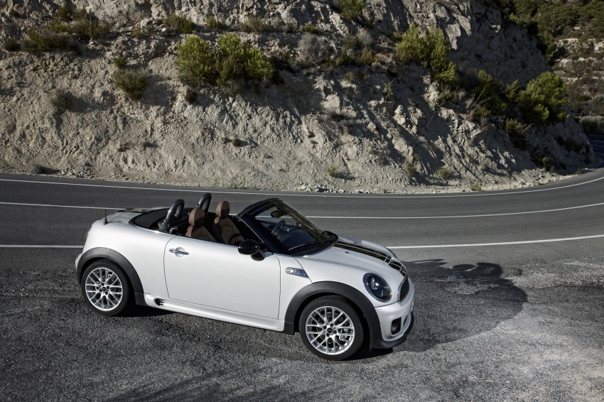 MINI Roadster – production drop top MINI Coupe unveiled! Image #74947