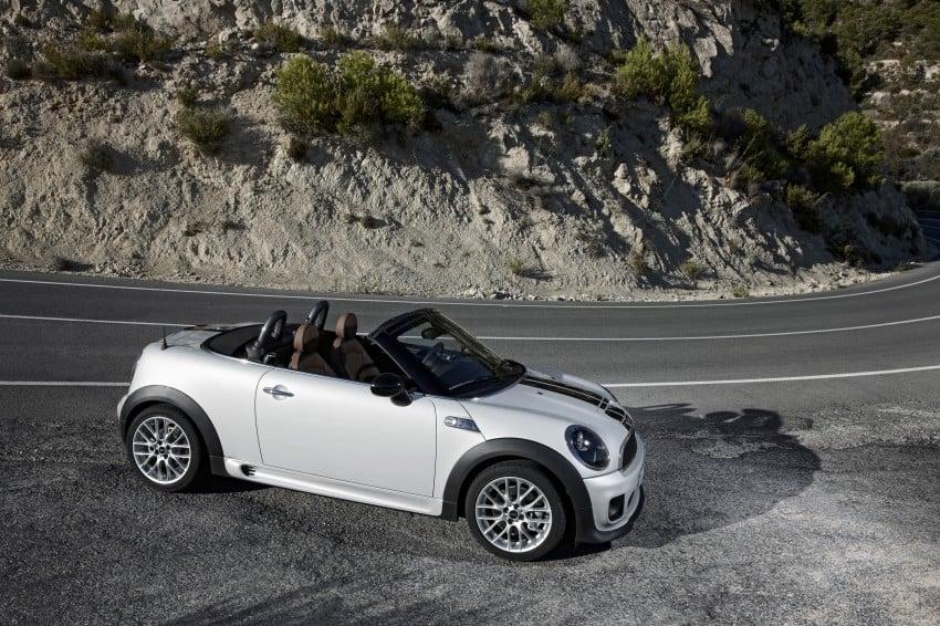 MINI Roadster – production drop top MINI Coupe unveiled! Image #74947