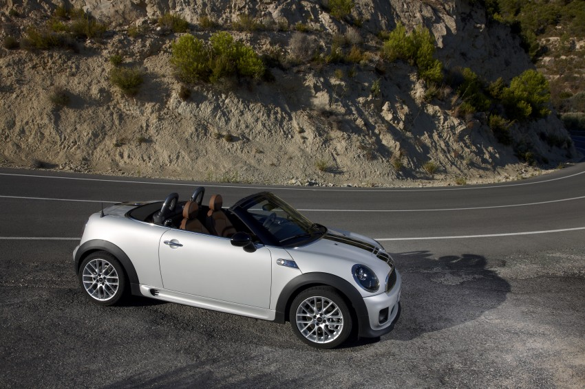 MINI Roadster – production drop top MINI Coupe unveiled! Image #74948