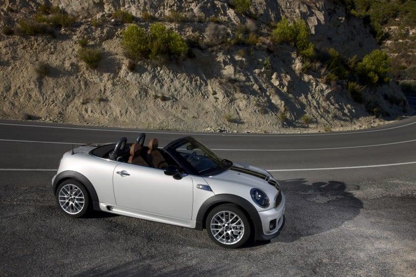 MINI Roadster – production drop top MINI Coupe unveiled! Image #74948