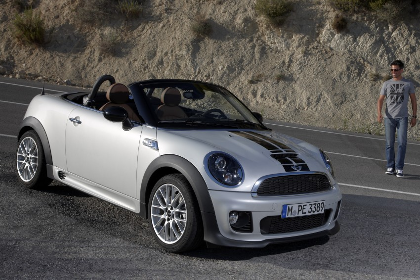 MINI Roadster – production drop top MINI Coupe unveiled! Image #74949