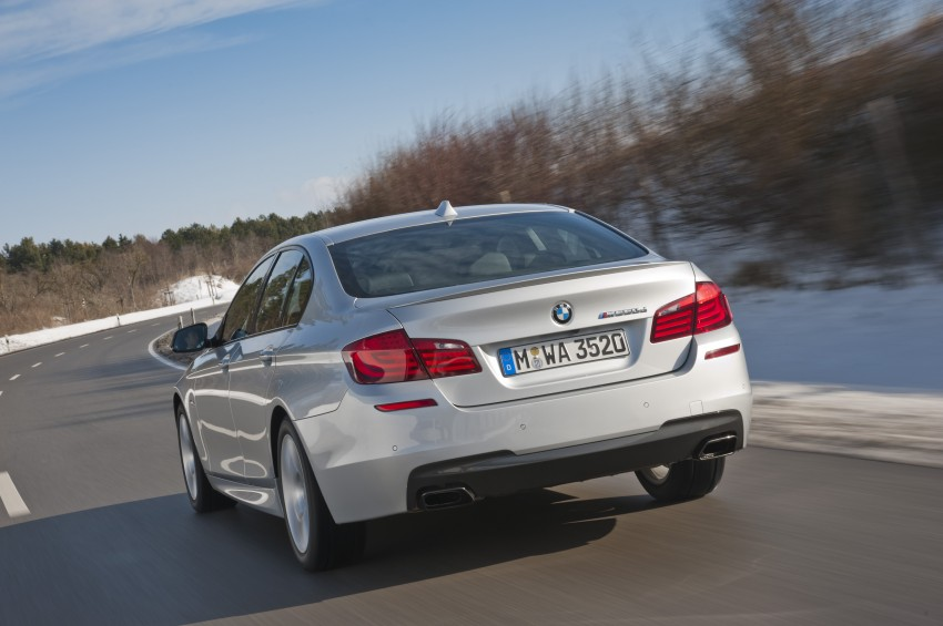 BMW M Performance Automobiles: tri-turbo diesel trio F10 BMW M550xd, BMW X5 M50d and BMW X6 M50d! Image #90287