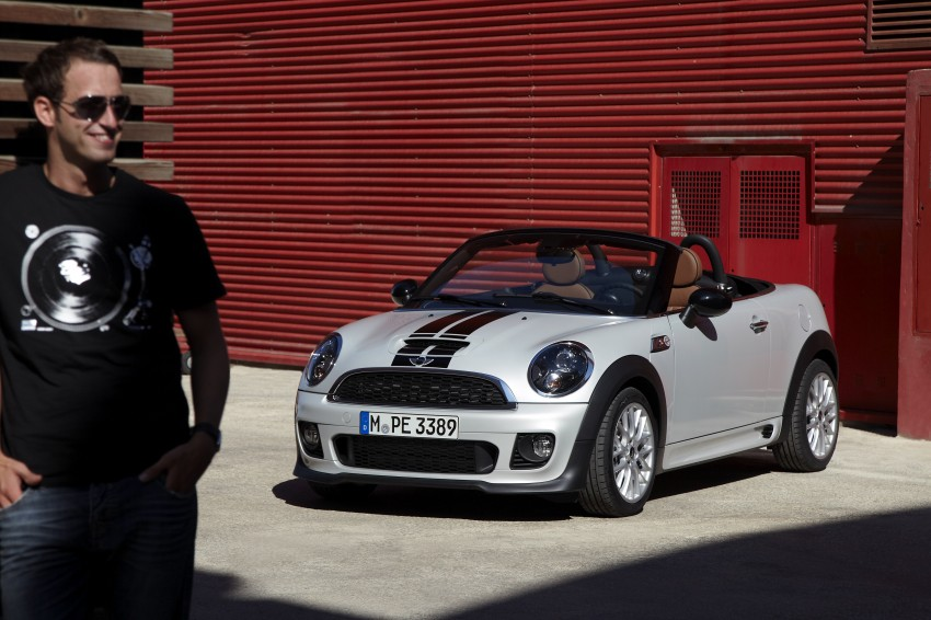 MINI Roadster – production drop top MINI Coupe unveiled! Image #74951