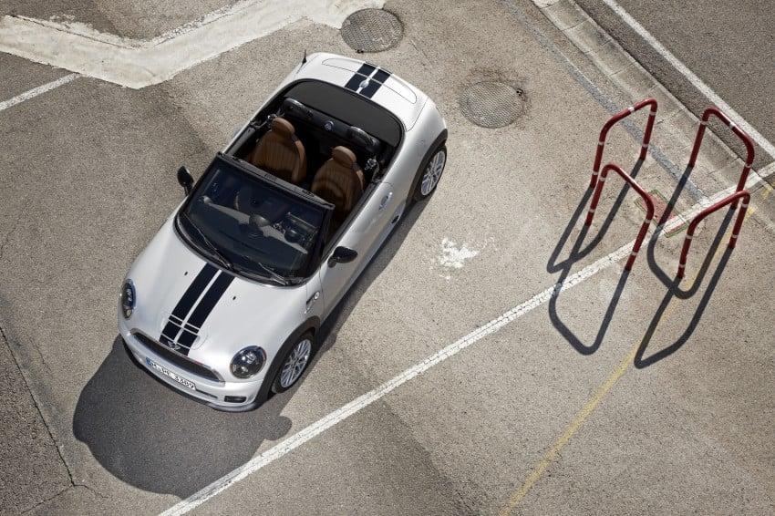 MINI Roadster – production drop top MINI Coupe unveiled! Image #74952