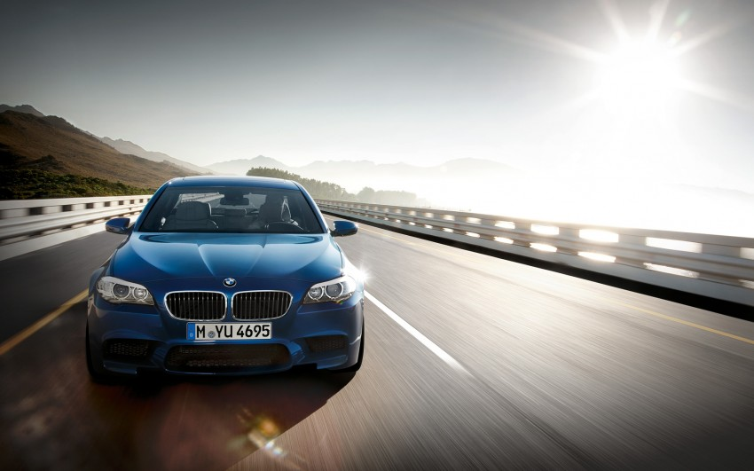 F10 BMW M5 to be launched on March 10, 2012 Image #86696