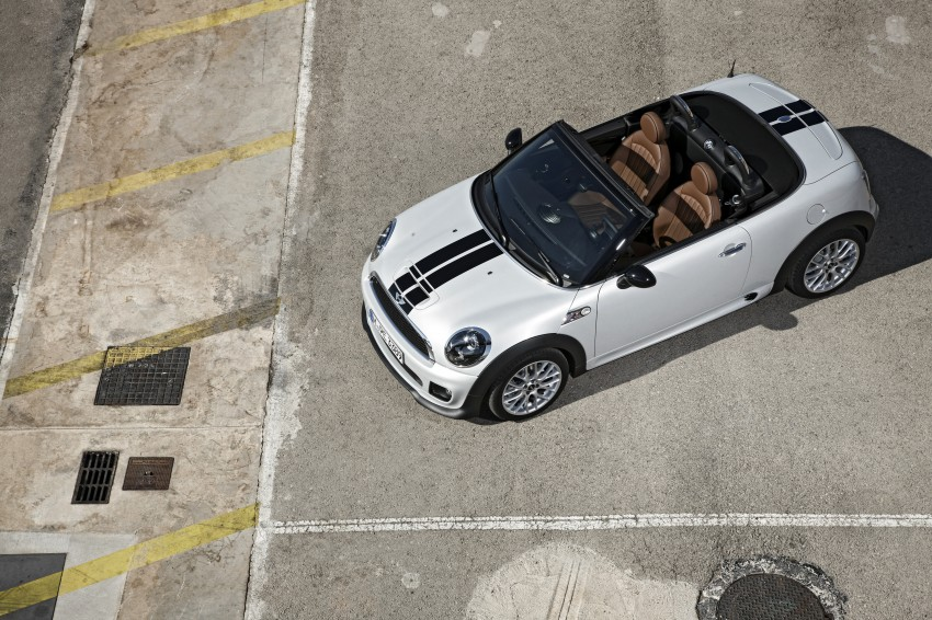 MINI Roadster – production drop top MINI Coupe unveiled! Image #74953