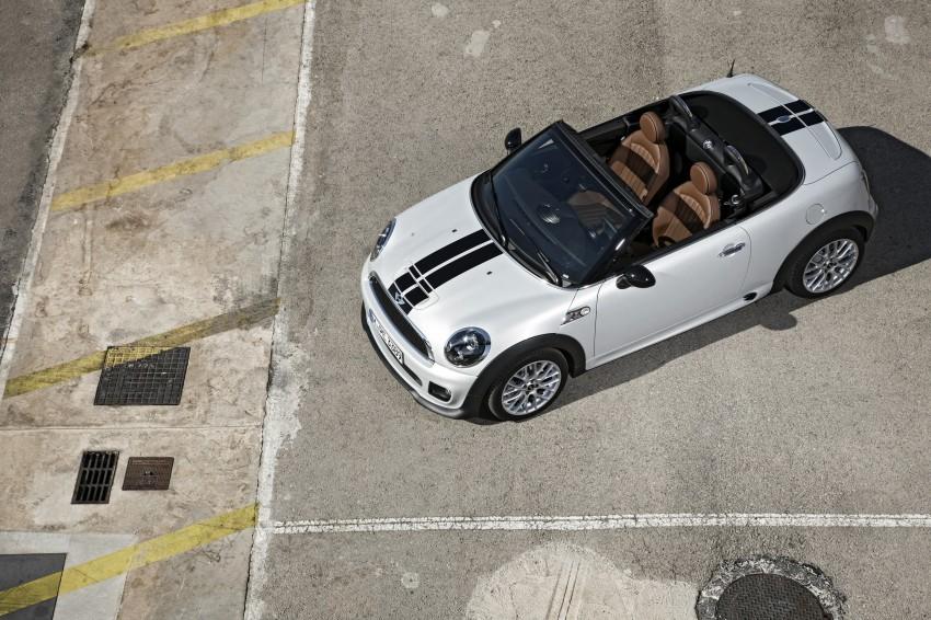 MINI Roadster – production drop top MINI Coupe unveiled! Image #74953