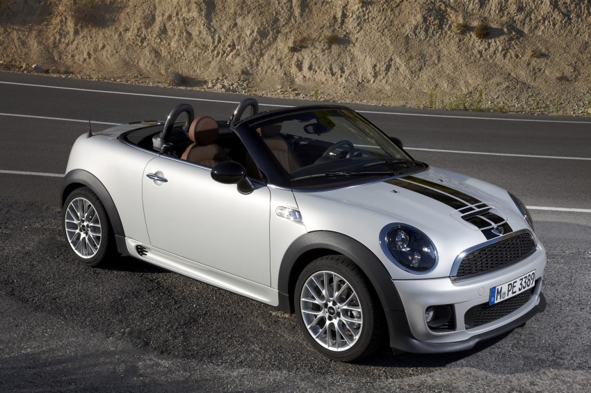 MINI Roadster – production drop top MINI Coupe unveiled! Image #74954