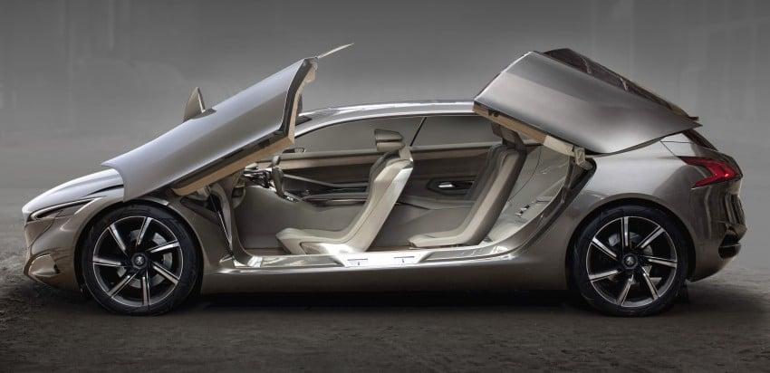Peugeot HX1 Concept MPV to debut at Frankfurt 2011 Image #66111
