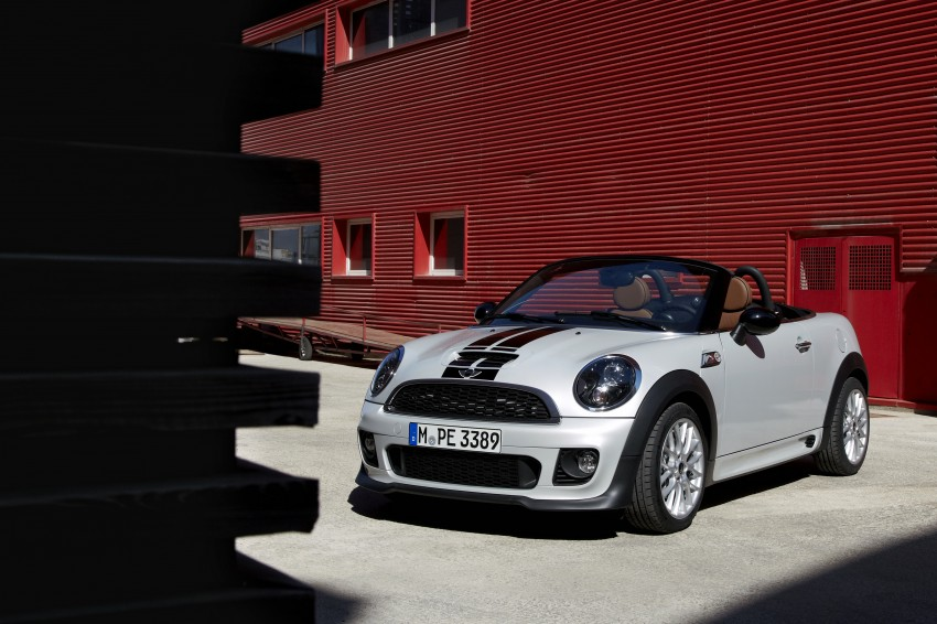 MINI Roadster – production drop top MINI Coupe unveiled! Image #74957