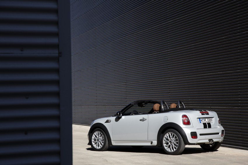 MINI Roadster – production drop top MINI Coupe unveiled! Image #74958