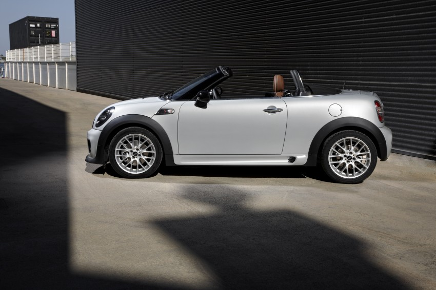 MINI Roadster – production drop top MINI Coupe unveiled! Image #74960