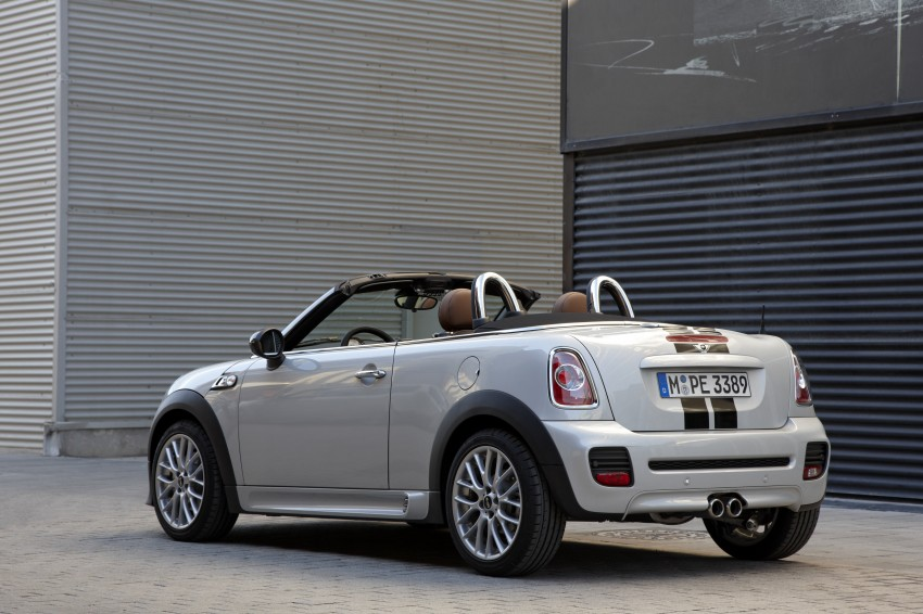 MINI Roadster – production drop top MINI Coupe unveiled! Image #74962