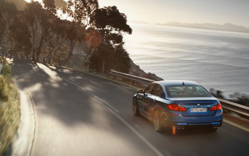 F10 BMW M5 to be launched on March 10, 2012 Image #86695