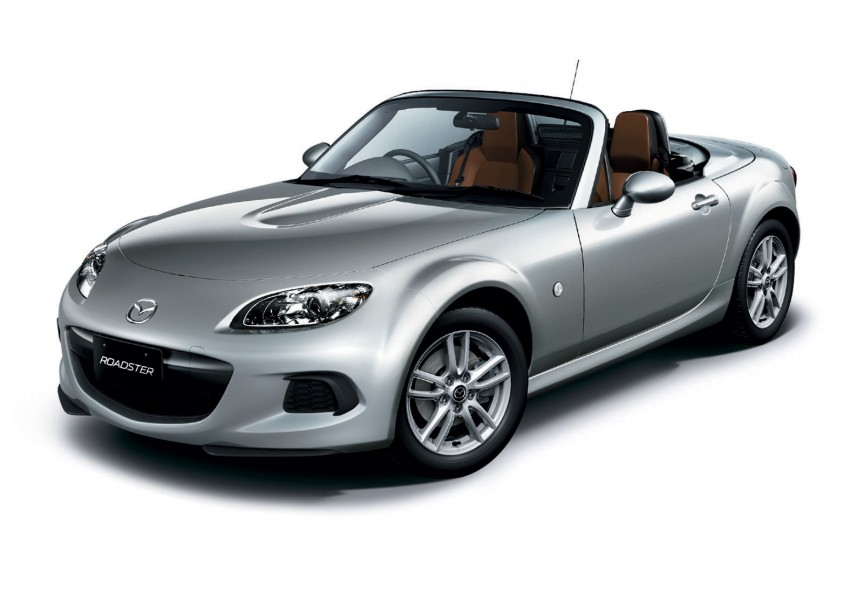 Mazda MX-5 upgraded and now being sold in Japan Image #116349