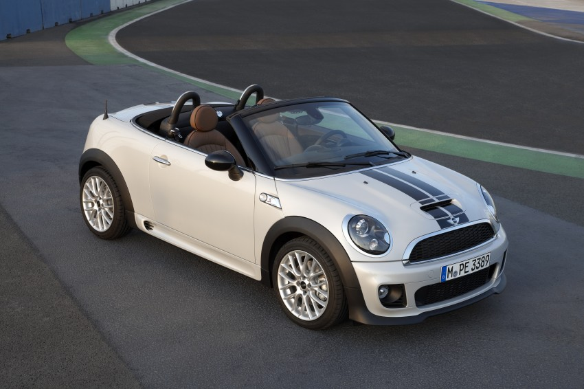 MINI Roadster – production drop top MINI Coupe unveiled! Image #74963