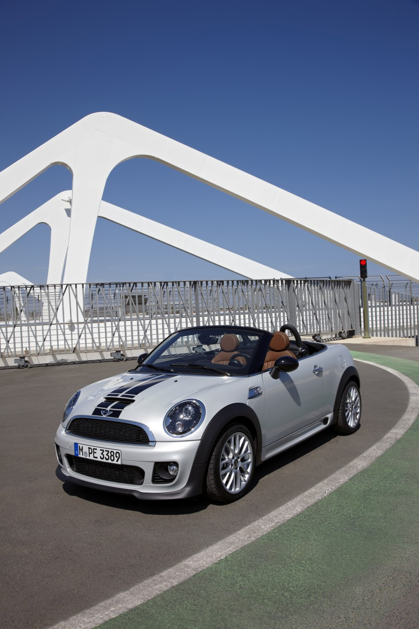 MINI Roadster – production drop top MINI Coupe unveiled! Image #74965