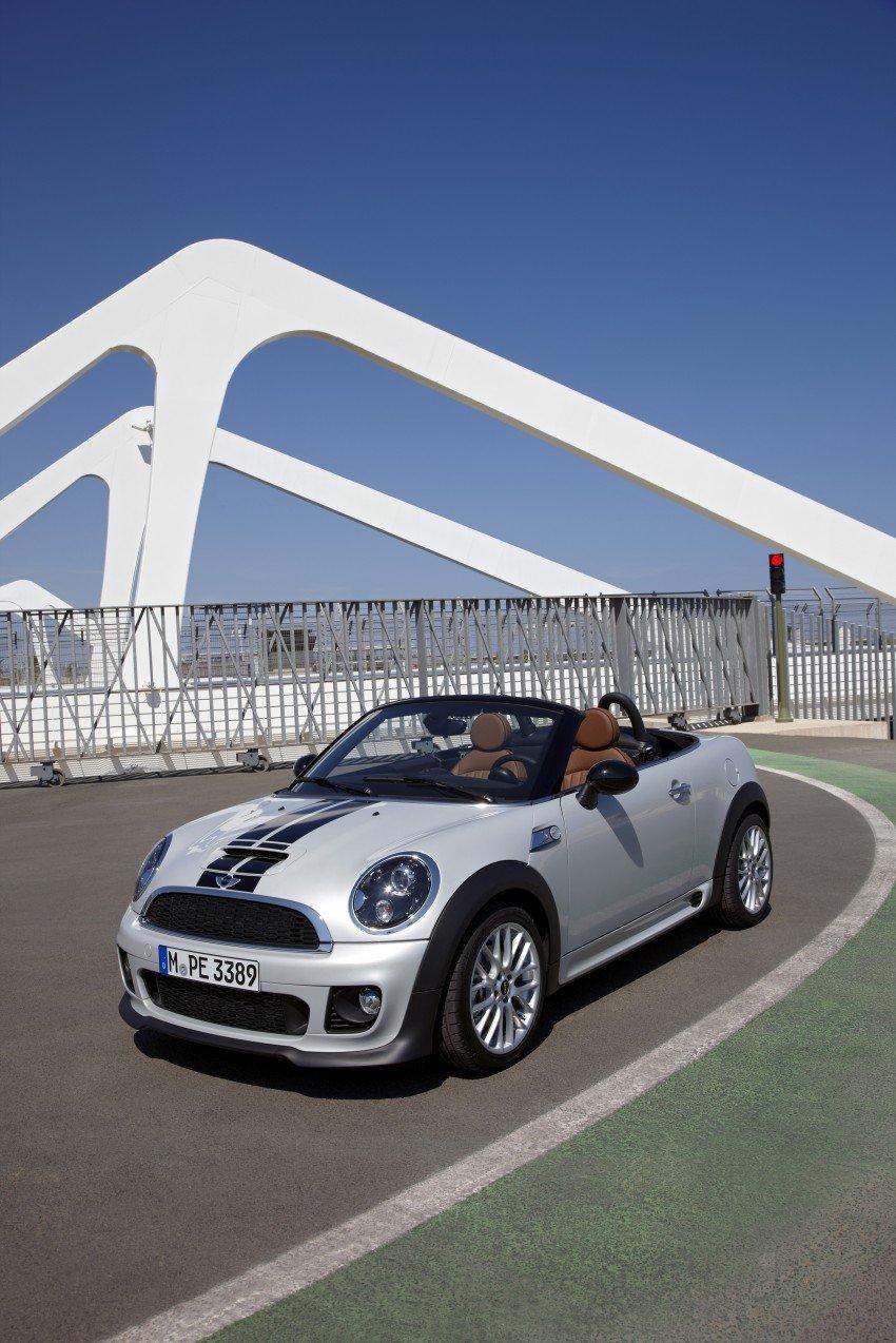 MINI Roadster – production drop top MINI Coupe unveiled! Image #74965