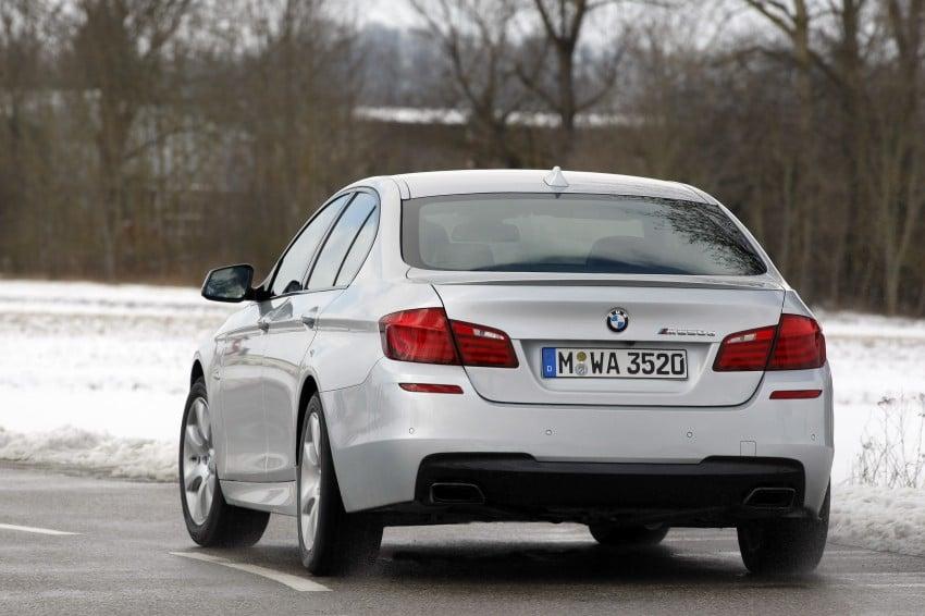 BMW M Performance Automobiles: tri-turbo diesel trio F10 BMW M550xd, BMW X5 M50d and BMW X6 M50d! Image #90302