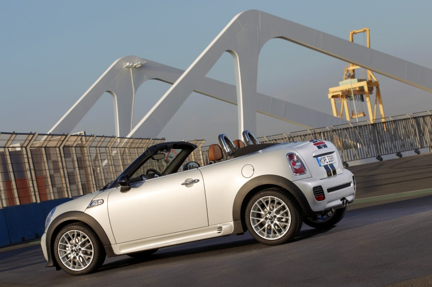 MINI Roadster – production drop top MINI Coupe unveiled! Image #74966