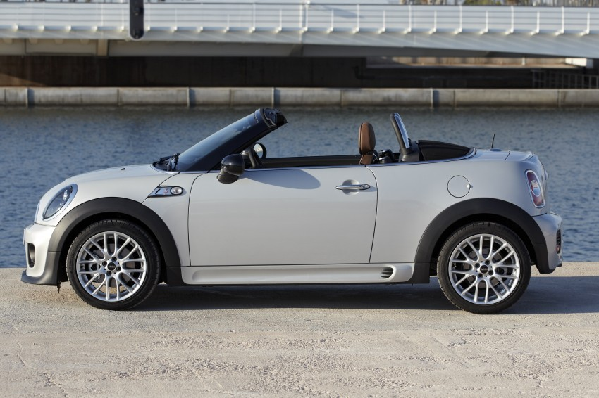 MINI Roadster – production drop top MINI Coupe unveiled! Image #74967