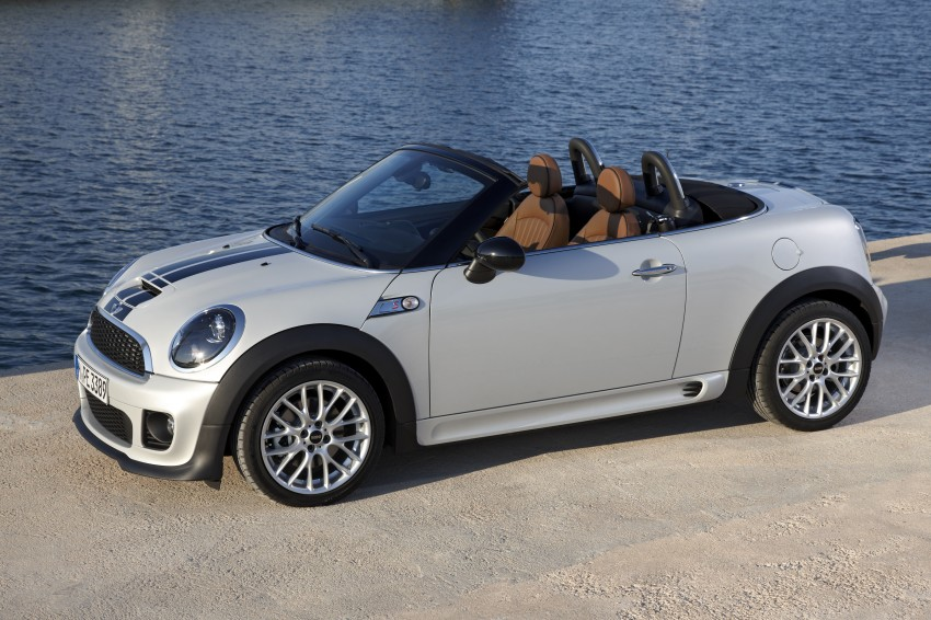 MINI Roadster – production drop top MINI Coupe unveiled! Image #74970