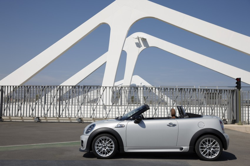 MINI Roadster – production drop top MINI Coupe unveiled! Image #74971