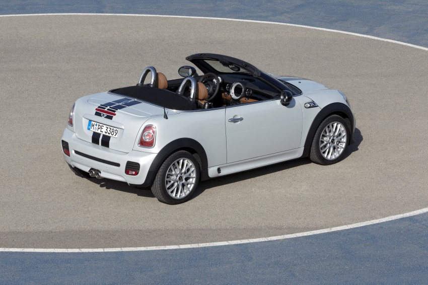 MINI Roadster – production drop top MINI Coupe unveiled! Image #74972