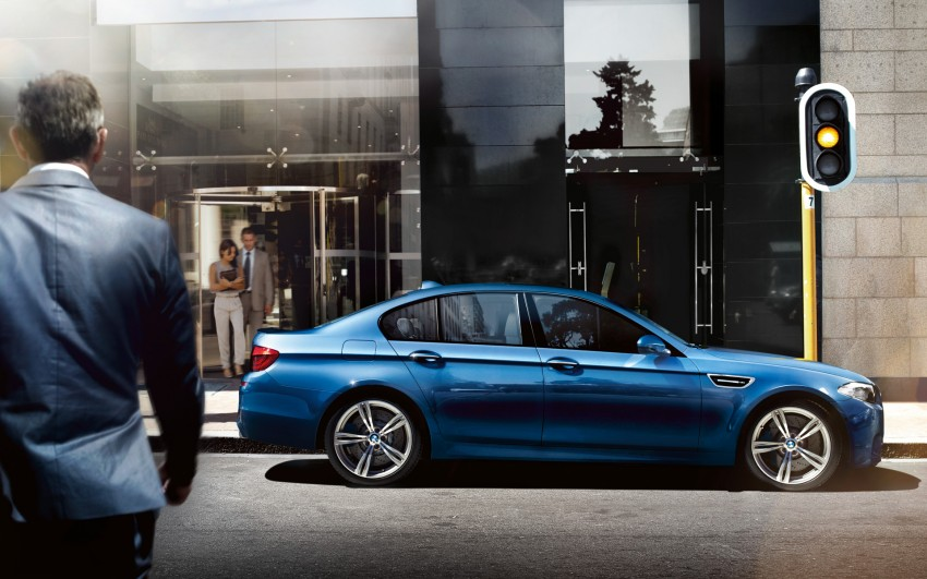 F10 BMW M5 to be launched on March 10, 2012 Image #86694