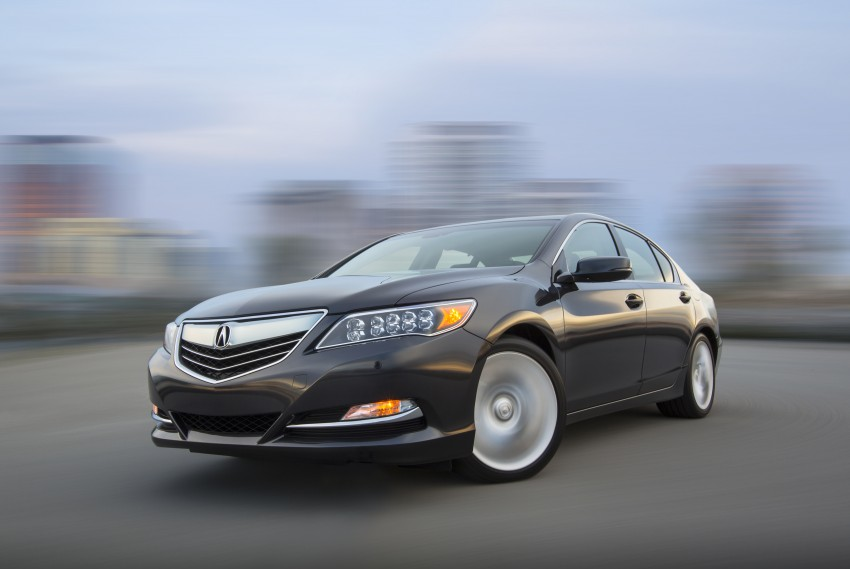 GALLERY: All-new 2014 Acura RLX – Honda's 5-Series Image #155138