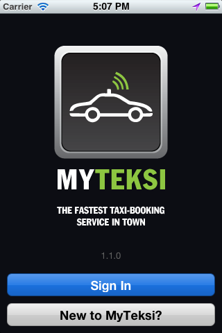 MyTeksi: book a taxi in Malaysia using an app Image #110530