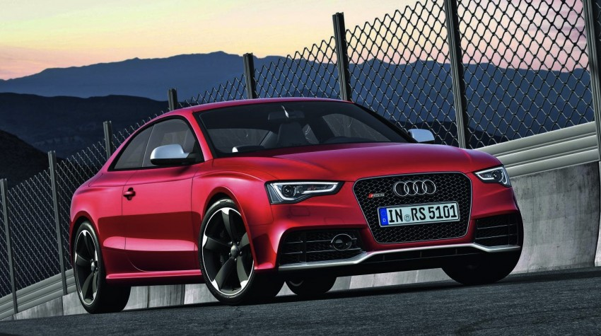 Frankfurt: Audi presents the refreshed 444 hp / 430 Nm RS5 Image #69043