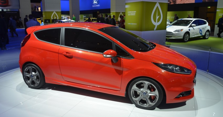 Frankfurt: Ford's Fiesta ST Concept takes centre stage Image #69293