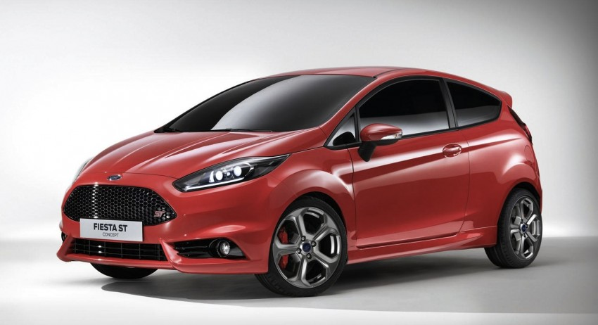 Frankfurt: Ford's Fiesta ST Concept takes centre stage Image #69191