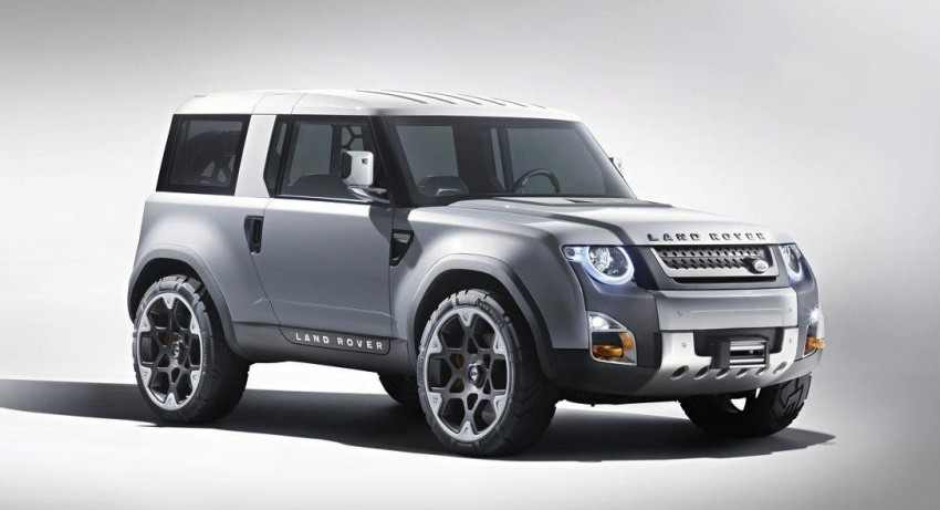 Frankfurt: Land Rover reveals the DC100 and DC100 Sport Defender concepts Image #68575