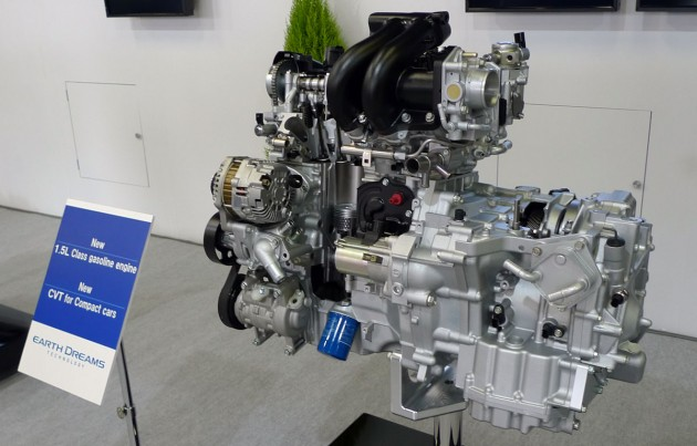 Honda Earth Dreams Technology - aiming for best in class