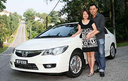 100th Civic Hybrid in Malaysia
