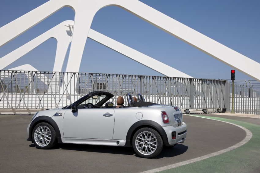 MINI Roadster – production drop top MINI Coupe unveiled! Image #74973