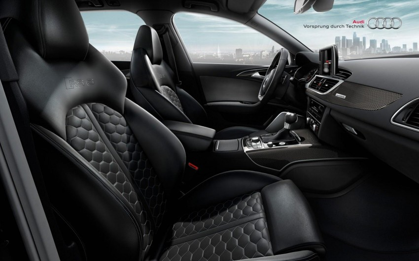Audi RS 6 Avant – 560 PS, 0-100 km/h in 3.9 seconds Image #144862