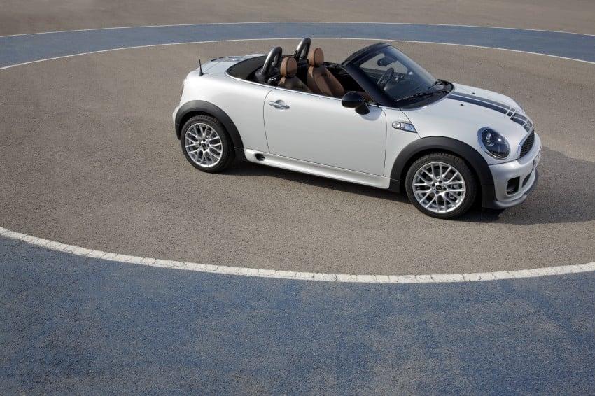 MINI Roadster – production drop top MINI Coupe unveiled! Image #74974
