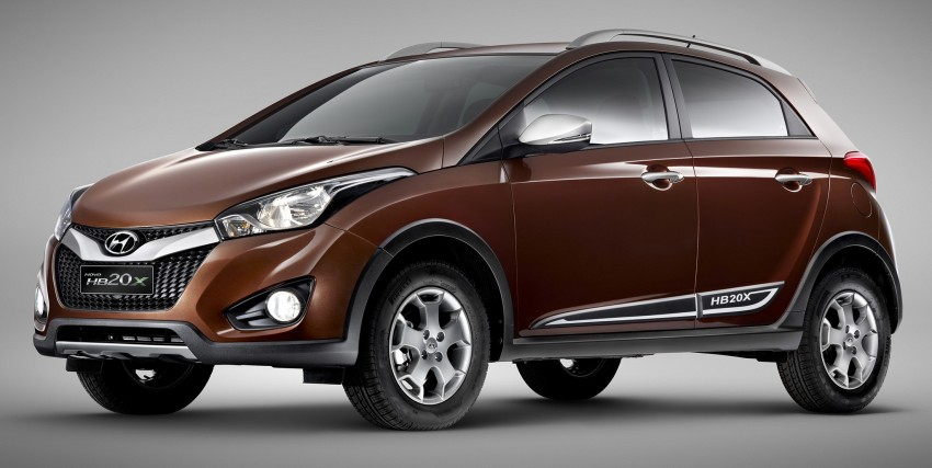 Hyundai HB20X crossover joins the Brazilian line-up Image #137764